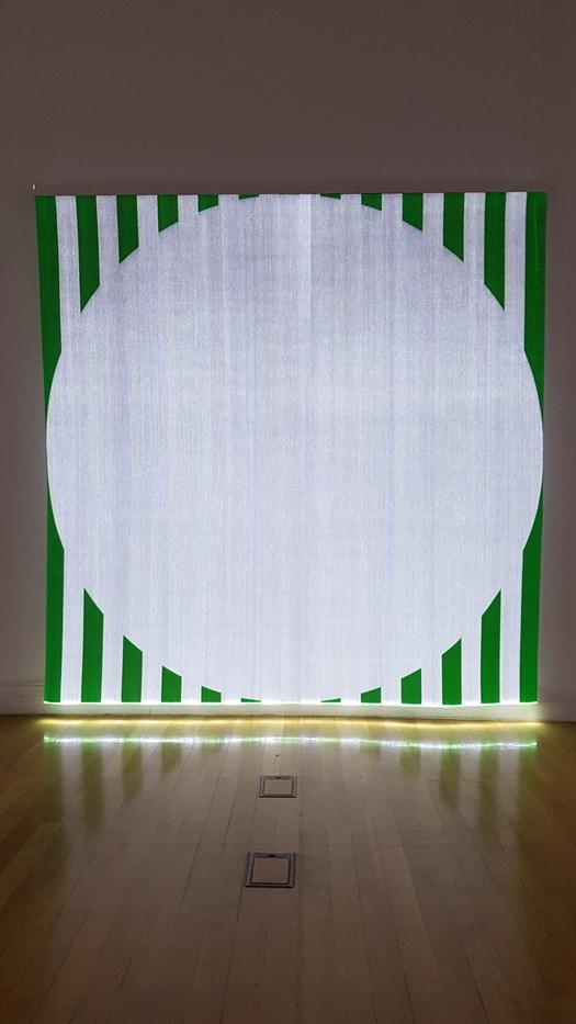 Daniel Buren mostra Bergamo