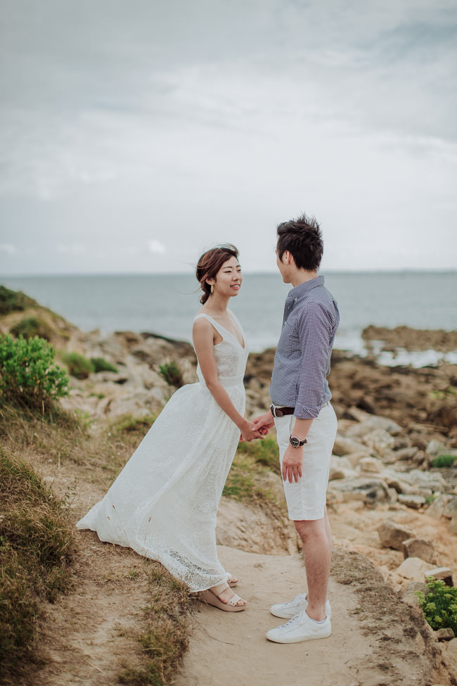 Japanese Couple in France