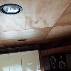 1階天井 ダウンライト