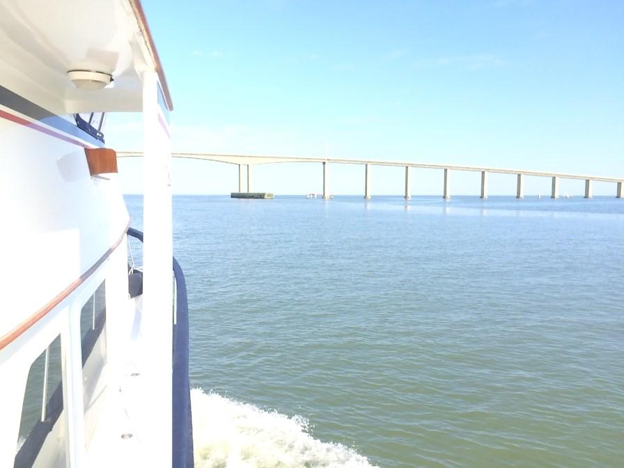 First bridge, 75 foot clearance