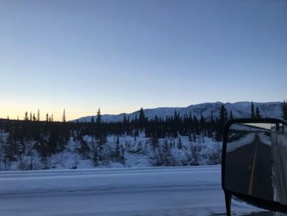 route to Valdez