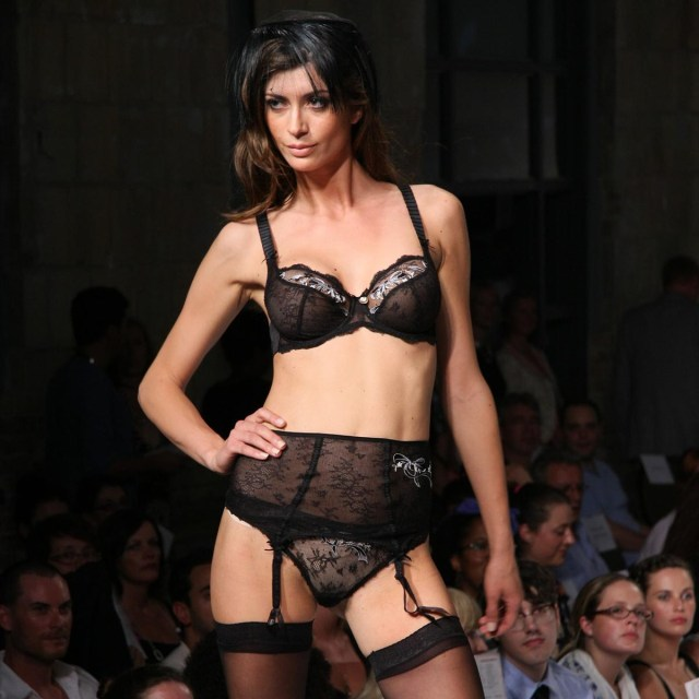 Laufsteg FashionWeek Unterwäsche