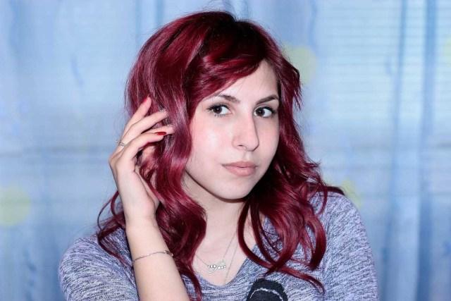 Rote Haare Haarfarbe