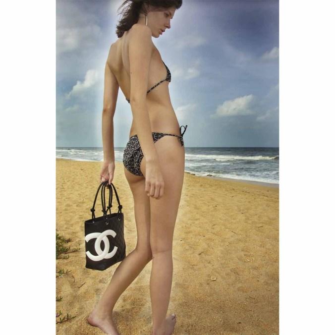 Chanel Bikini Strandstyle