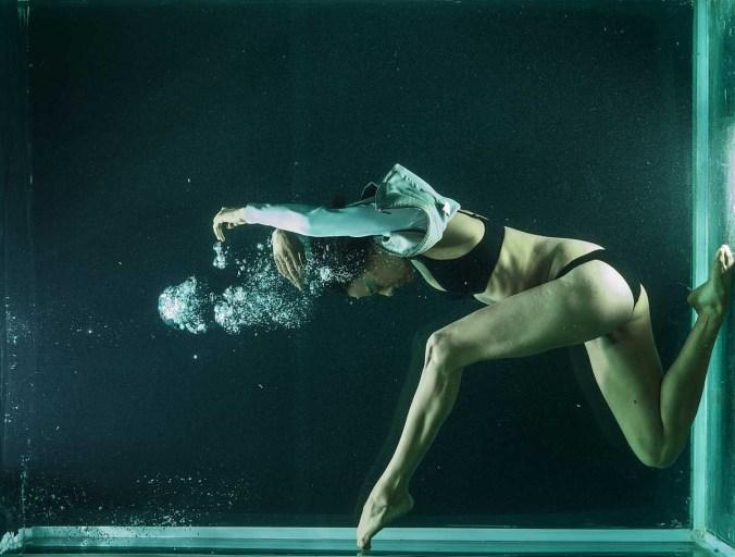 Beauty Unterwasser Model