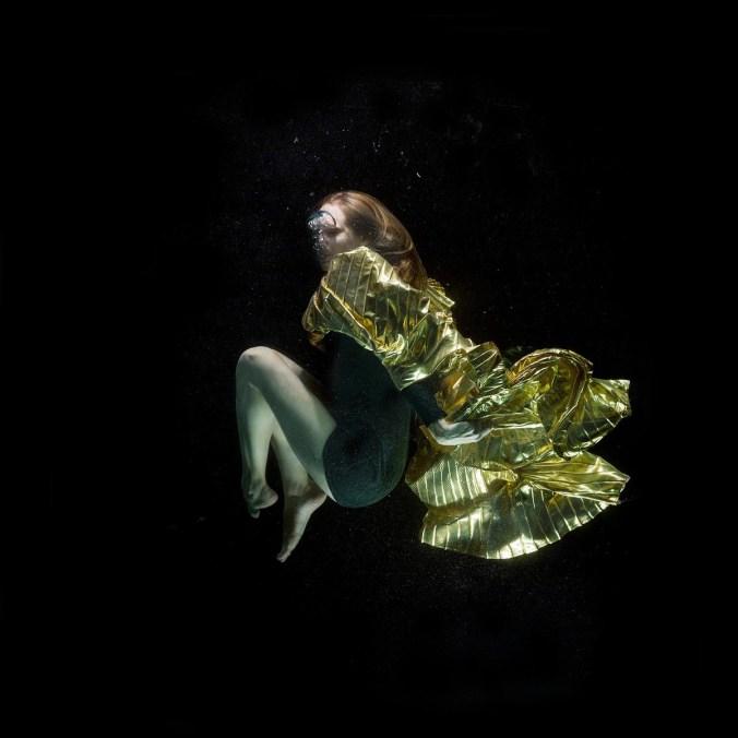 Mode Unterwasser Beauty