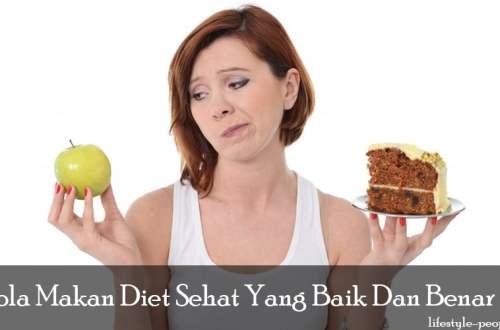 Pola Makan Diet Sehat