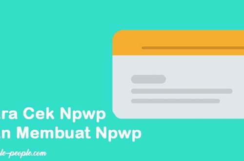 lifestyle-people.com - cara membuat npwp
