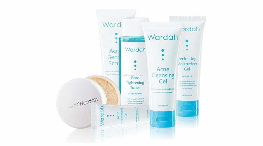 Rangkaian Skin Care Wardah Khusus Jerawat (Wardah Acne Series) Plus Harganya