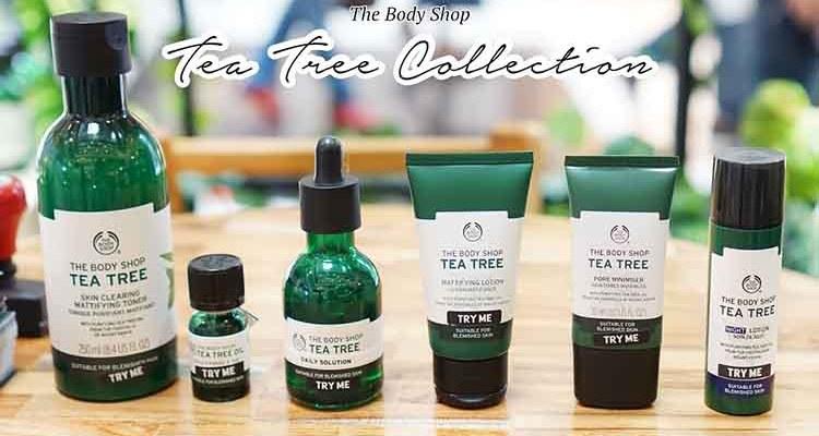Tea Tree Oil The Body Shop Hilangkan Jerawat Secara Alami