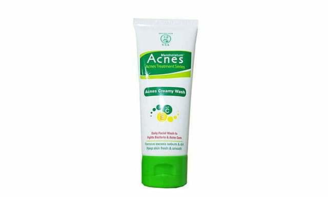 acnes facial wash
