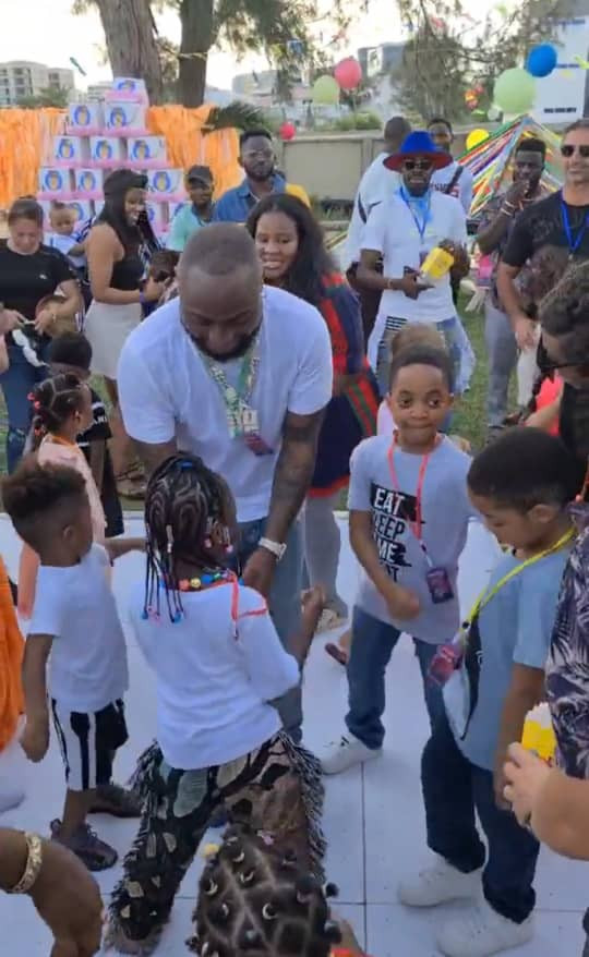 Davido throws birthday party for his daughter Imade (photo/video)