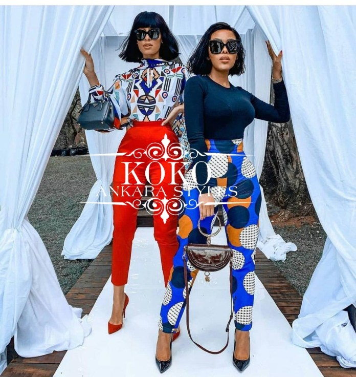 Ankara top and trousers