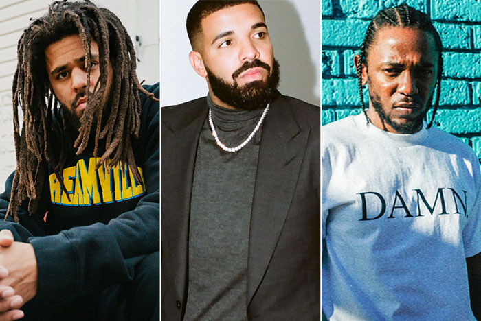 J.Cole reveals why he no longer views Kendrick Lamar and Drake as competition