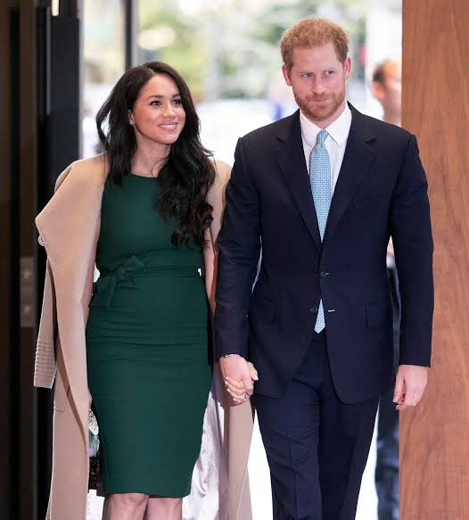 Prince Harry reveals he first met wife Meghan Markle in a supermarket