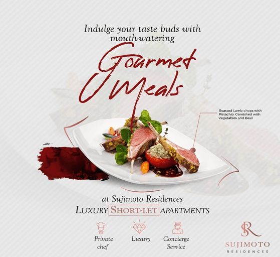 Sujimoto Residence - The only luxury short-let apartment that comes with a private chef to fulfill all your culinary fantasies