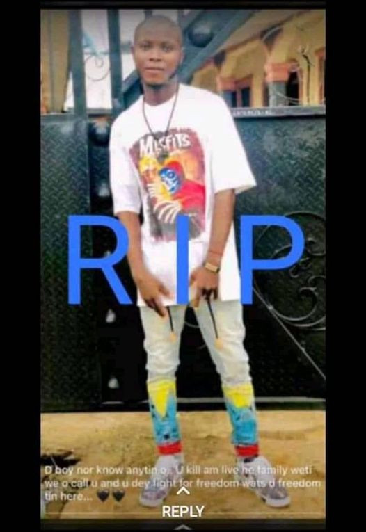 Suspected cultists kill young man in Delta (photos)