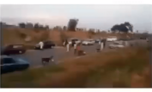 Travelers running during a bandit attack on Tegina-Zugero highway in Niger state (video)