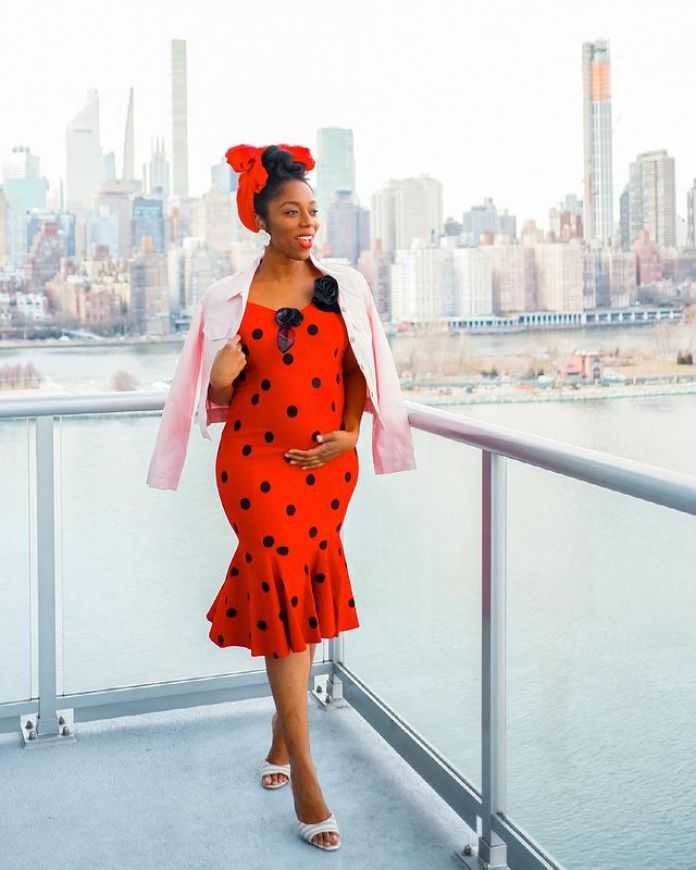 10 Times Chinny Made Maternity Fashion An Absolute Delight
