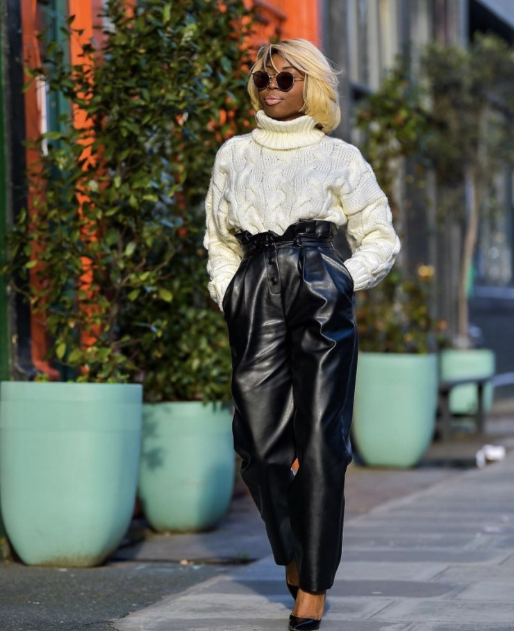 black leather trousers stylerave