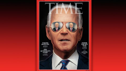 TIME magazine blasted for exaggerated attempt to make Joe Biden ?look cool? and tough on its cover ahead of Putin meeting