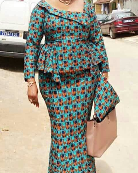 IMAGES African Fashion Dresses For Church Convention.