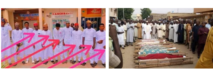 17 young Kano men die in fatal motor accident while returning from friend