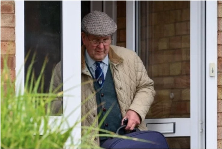 88 year old Farmer is charged with murdering wife after she is found buried in septic tank 37 years after he reported her missing