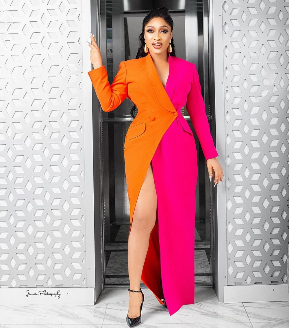 Tonto Dikeh- Stunning Is The Word For This Look