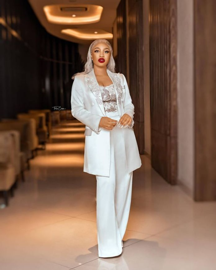 Tonto Dikeh Is Making Strong Fashion Statements In Her Birthday Photos