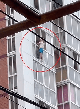 Dad dangled screaming son, 3, on window ledge for two-and-a-half hours and threatened to drop him to punish his