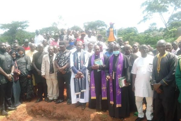 Military officer and his son who were killed by suspected kidnappers, laid to rest in Plateau state