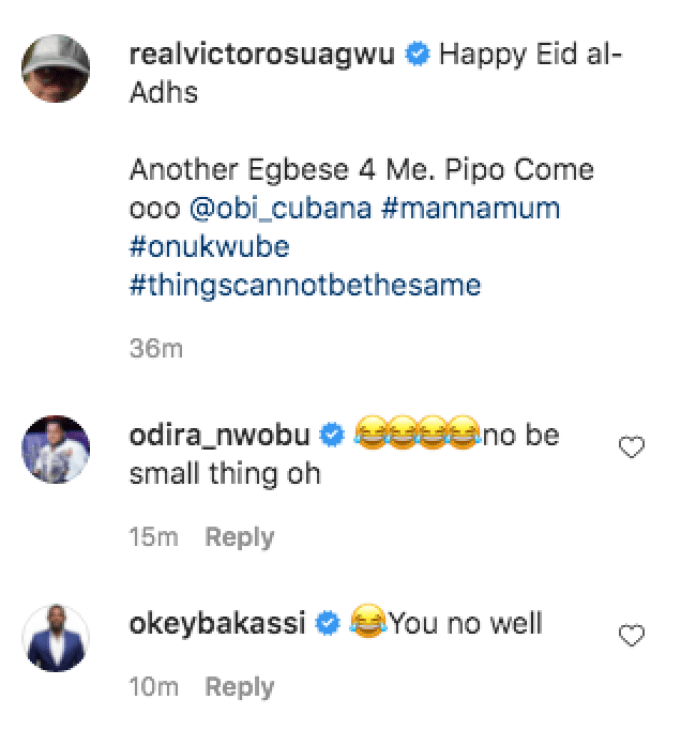 My Mom Has Been Asking For Reburial After Obi Cubana Buried His Mom - Victor Osuagwu