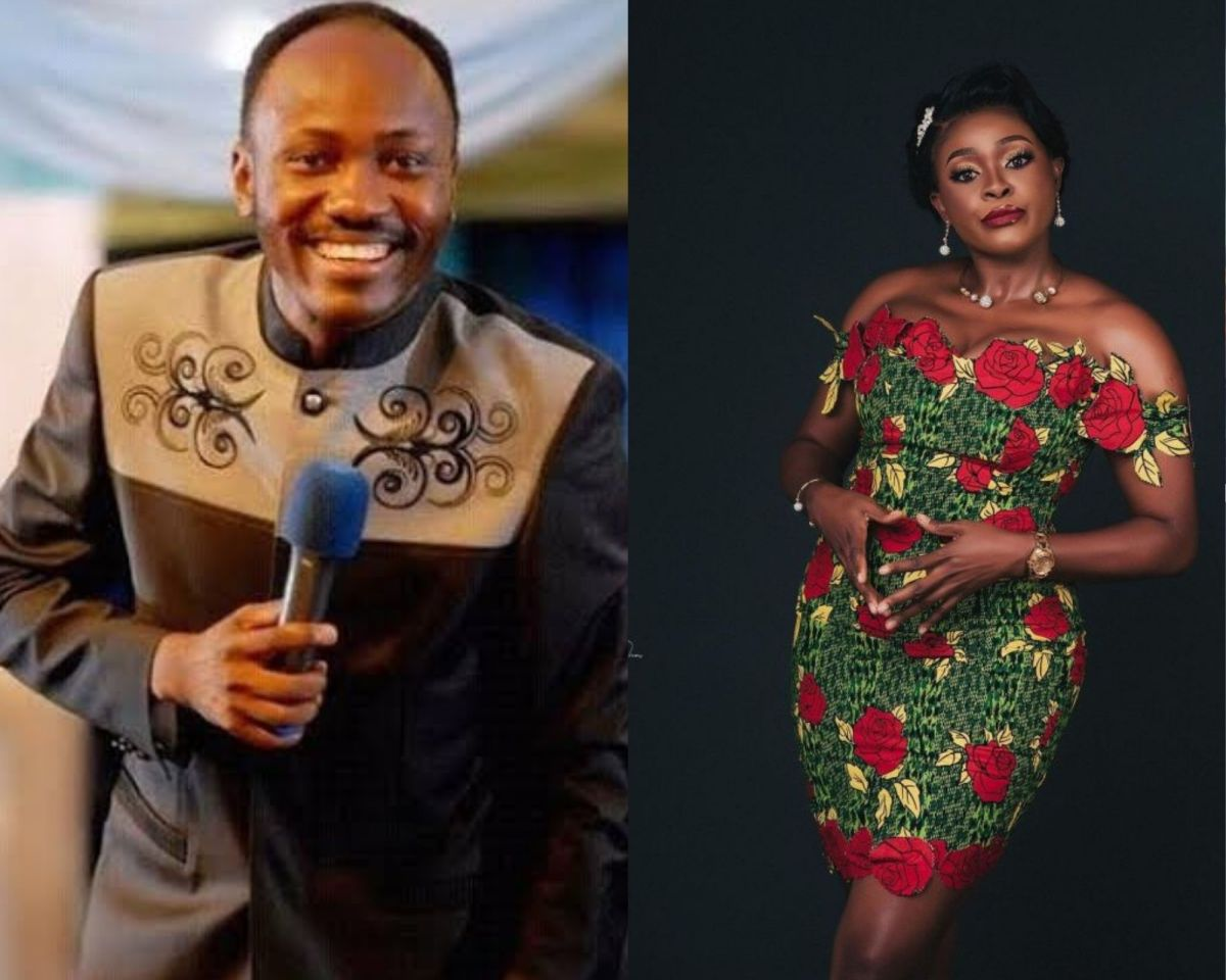 """""""I'm not discouraged"""", says Apostle Suleman as he reacts to allegations of sleeping with actress, Chioma Ifemeludike (Video)"""