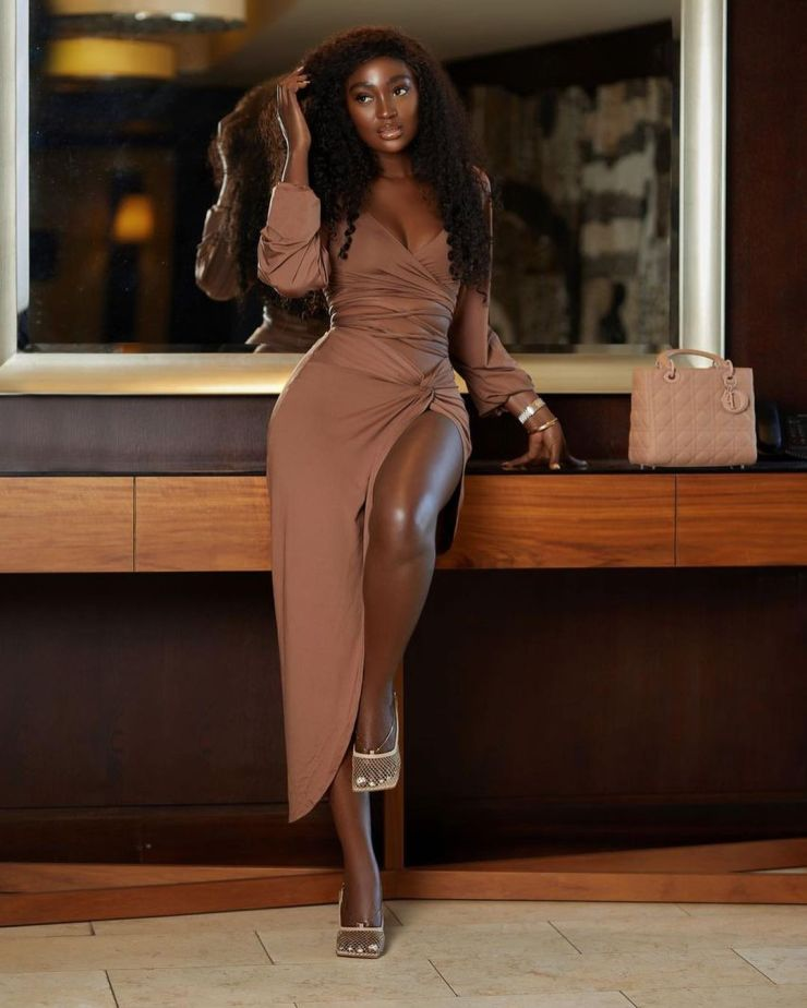 Tolu Bally- Going All Out In Neutral Color
