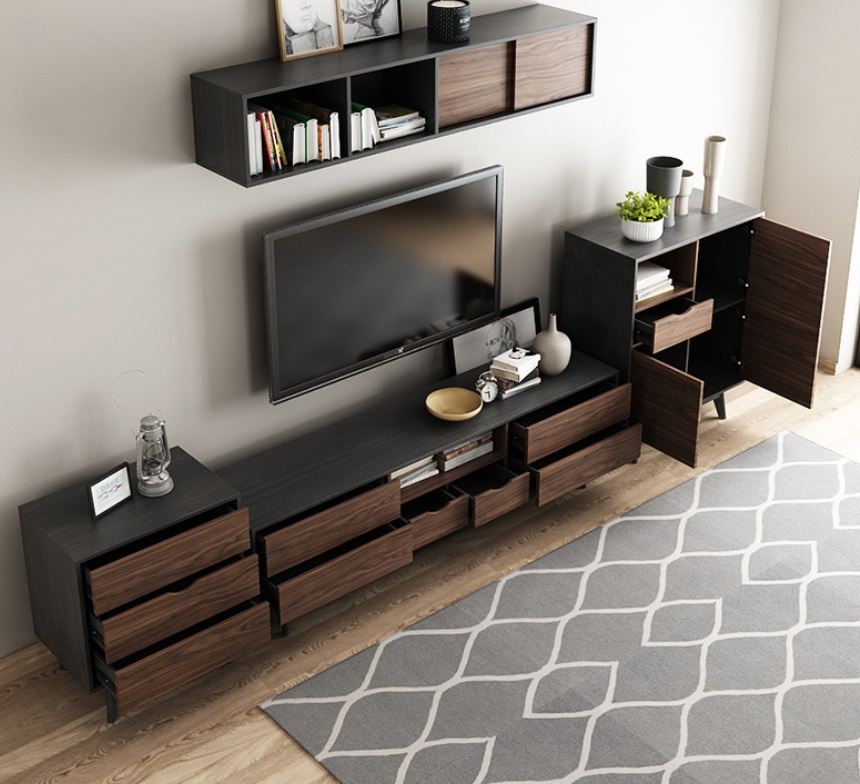 Tv Console For Living Room Novocom Top