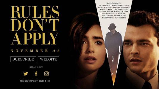 Rules Don't Apply - Wednesday, November 23