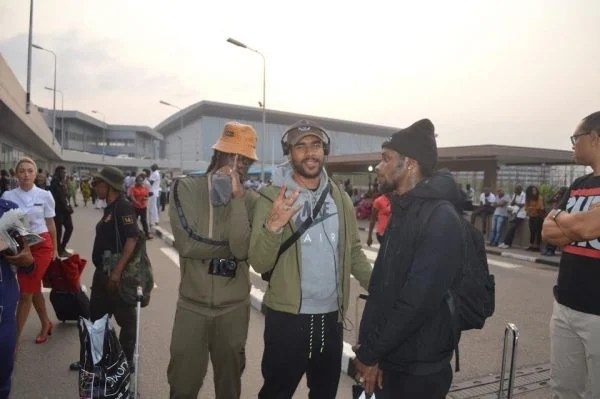 PHOTOS: American, British groups arrive Lagos for Beat FM Christmas concert