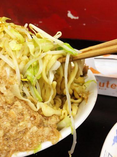 マッチョ_つけ麺_麺