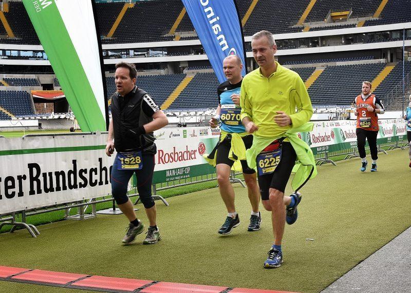 Halbmarathon Frankfurt 2019…und alles freiwillig
