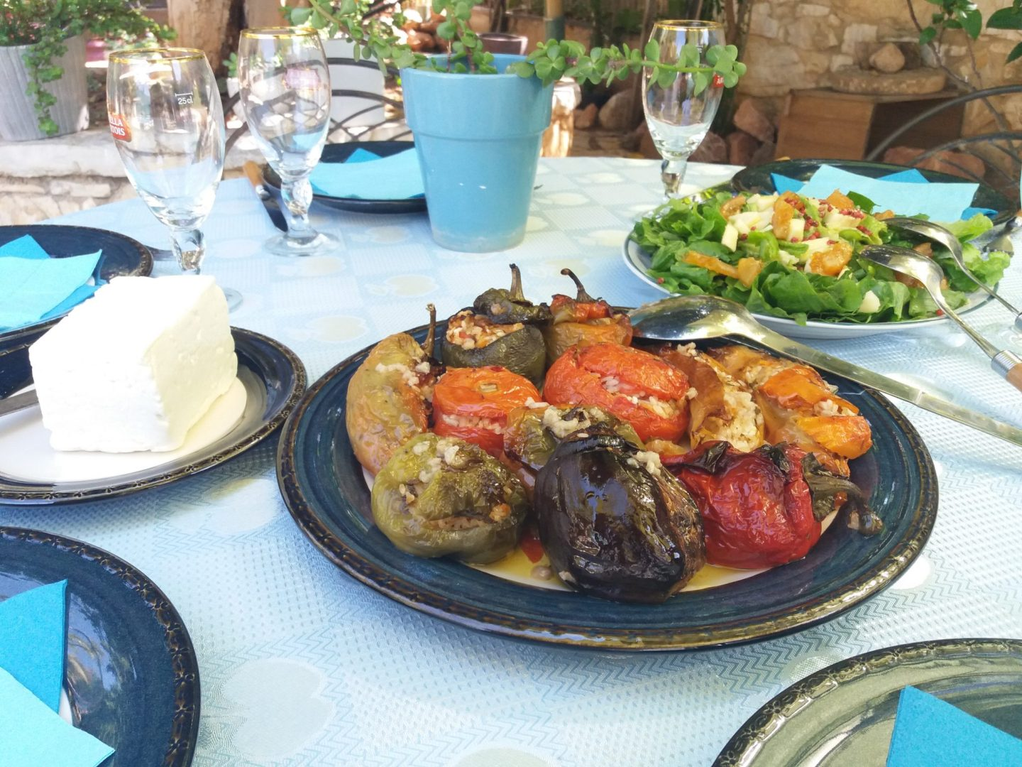 Stuffed Vegetables – Greek Gemista Traditional Recipe