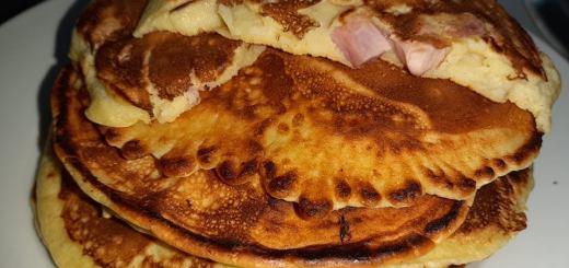 rețetă pancakes sărate