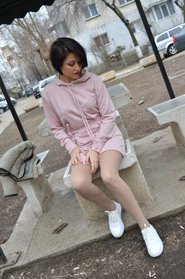 rochie tip hanorac