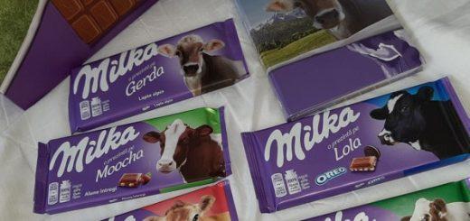 văcuțe Milka