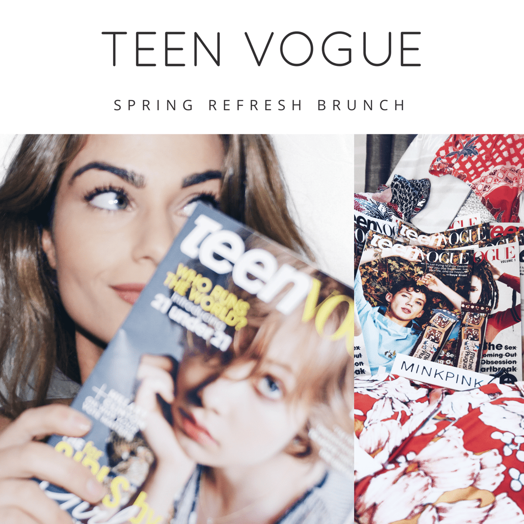 Teen Vogue Brunch