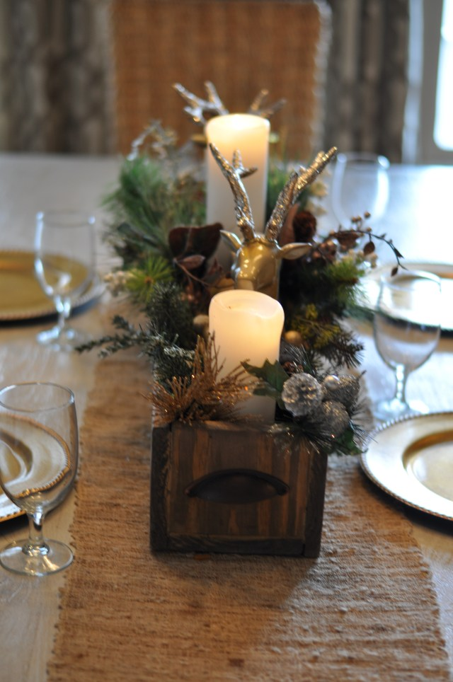 pallet box centerpiece