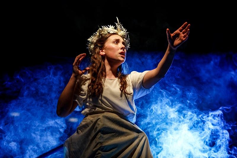 Amelia Paltridge as Nina in The Three Seagulls, Bristol Old Vic Theatre School