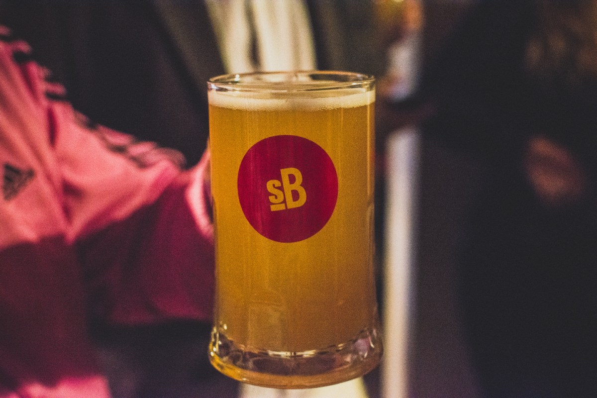 Cycle City, a collaboration between Left Handed Giant, another great Bristol brewery, with Danish brewery Dry & Bitter, was launched at Small Bar.