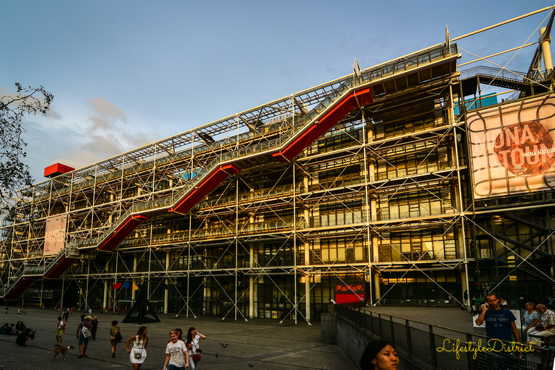 Lifestyle District | View from the Pompidou Centre in Paris