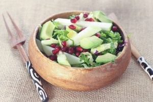 Apple Pomegranate Crunch Salad